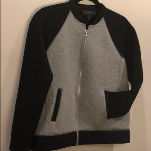 J Crew zipper sweatshirt